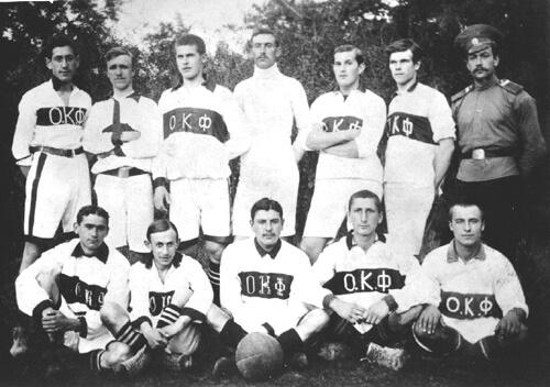 Odessa F.C. champion of Russian Empire (although disqualified by a Petersburger trick)