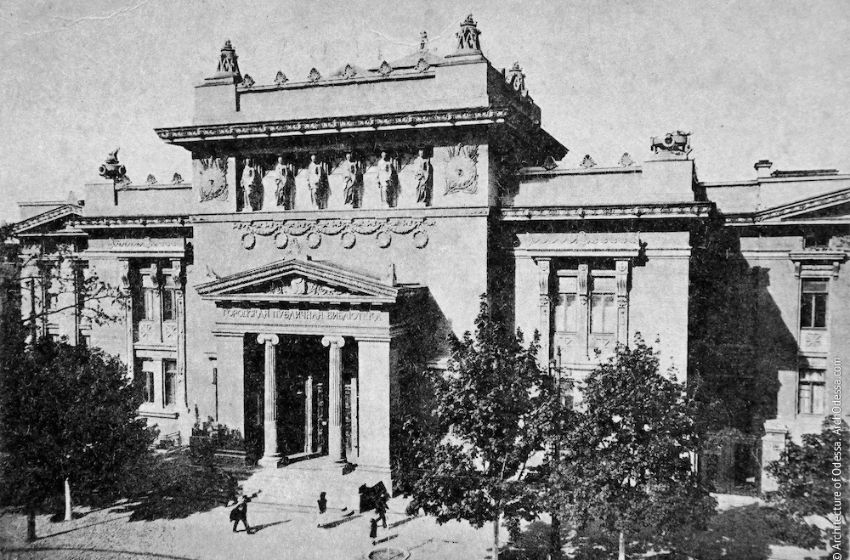 Odessa National Scientific Library is a leading cultural center of Ukraine