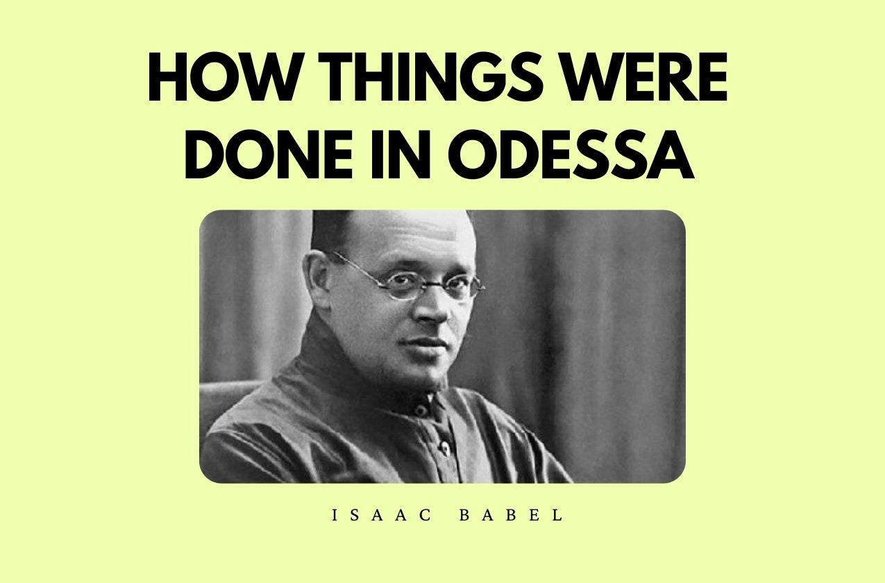 The Bookshelf: How things were done in Odessa